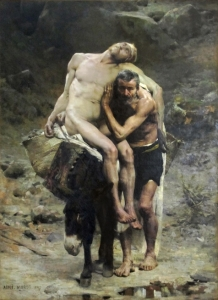 """The Good Samaritan"" by Aimé Morot (1880)"