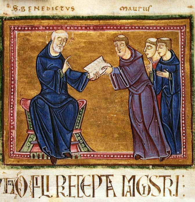 the rule of st benedict
