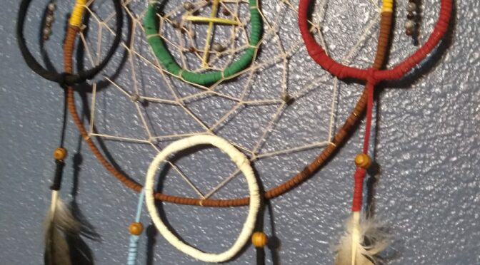 Cherokee Seven Direction Dreamcatcher